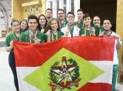 SENAI de Chapecó conquista sete medalhas em Olímpiada