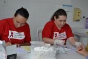 Saúde de Cocal realiza ação na praça no dia Mundial contra a AIDS