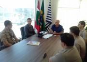 Escola de Balneário Rincão participam do Proerd