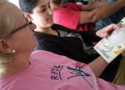 Hospital São Donato e Rede Feminina se unem em prevenção