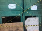 Defesa Civil determina demolição de galpão comprometido