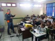 Defesa Civil de Içara promove palestra em escola