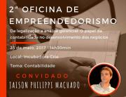 Incubadora Crie promove Oficina de Empreendedorismo