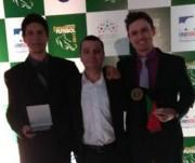 Árbitro da Larm são premiados no Destaque do Catarinense 2017