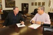 Moreira garante a Dóia a revitalização da SC-445