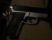 PM de Araranguá apreende simulacro de arma de fogo