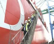 Chegada de navio gigante dá início à nova fase do Porto de Imbituba