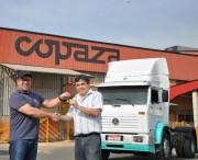 Copaza doa veículo para ação em prol do Hospital São Donato