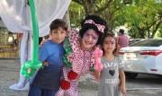 Pinturas e balé incentivam a expressão infantil no Natal Luz de Içara