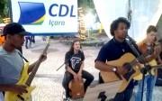 Ministério Fogo Santo abre shows acústicos no Natal Luz de Içara