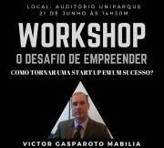 Como tornar uma startup de sucesso é tema de workshop na Unisul