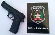 Polícia Civil identifica jovem que se dizia policial de Criciúma