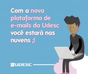 Udesc adotará nova plataforma de e-mail com mais vantagens