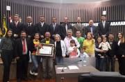Câmara concede moção de reconhecimento ao presidente do União