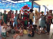 Colônia de Férias da Afasc encerra com participação do Carnavale di Venezia