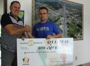 Empresário recebe prêmio do Programa Valoriza Maracajá