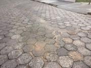 Novo vazamento de esgoto no bairro Cristo Rei em Içara