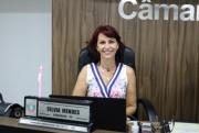 Vereadora do PP aponta necessidade de revisão na iluminação pública