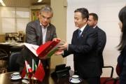Moreira apresenta potencialidades de SC para comitiva chinesa