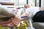 Vice-governadora participa de doação de sangue coletiva