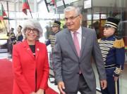 Governador recebe embaixadora dos Emirados Árabes