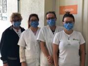HSJosé confecciona máscaras para se proteger do coronavírus (covid-19)