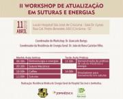 HSJosé realiza Workshop de atualização em suturas e energias