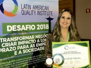 Unesc recebe certificado do Latin American Quality Institute