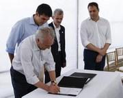 Temer anuncia R$ 45 milhões para obras de transposição