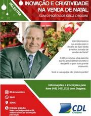 Vendas de Natal é tema de palestra gratuita em Criciúma