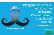Campanha Novembro Azul: barba, bigode e prevenção