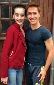 Bailarino internacional elogia jovem da Fundação de Içara