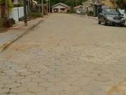Localidade de Mina Fluorita ganham pavimentação