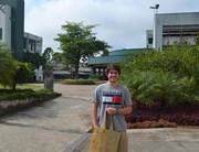 Ele tinha um sonho e foi o primeiro a se matricular na Unesc