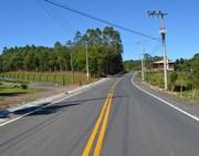 Pavimentação até São Martinho recebe sinalização