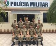 O 19º Batalhão de Polícia Militar recebe 9 soldados