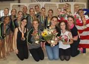 Blumenau e Joinville conquistam a ginástica rítmica da Olesc
