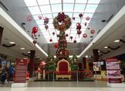 Decoração de Natal interativa encanta visitantes