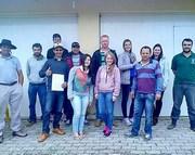 Produtores rurais participam de curso de inseminação artificial