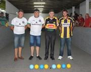 Final do Campeonato de Bocha na comunidade de Içara