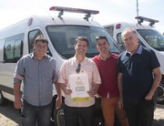 Morro da Fumaça recebe nova ambulância zero quilômetro