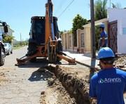 Concessionária amplia de rede de abastecimento de água