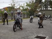 PMs participam de Curso de Policiamento Tático com Motocicletas
