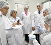 SENAI recebe visita do ONSP do Peru para cooperação técnica
