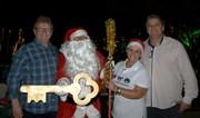 Papai Noel traz encanto e alegria ao Natal Luz de Siderópolis
