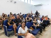 Público lotou à Casa Legislativa para assistir diplomação