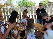 Crianças do bairro Mirassol ganham Festa de Natal