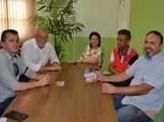 Prefeito de Cocal recebe visita do novo presidente da CDL