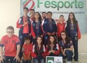 Içara encerra participação na Olesc com 21 medalhas