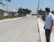 Governo de Maracajá entrega mais nove ruas pavimentadas